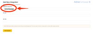 ClickFunnels ActiveCampaign Account Integration Fields