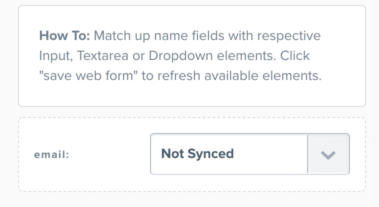 ClickFunnels Email Integration Sync Form