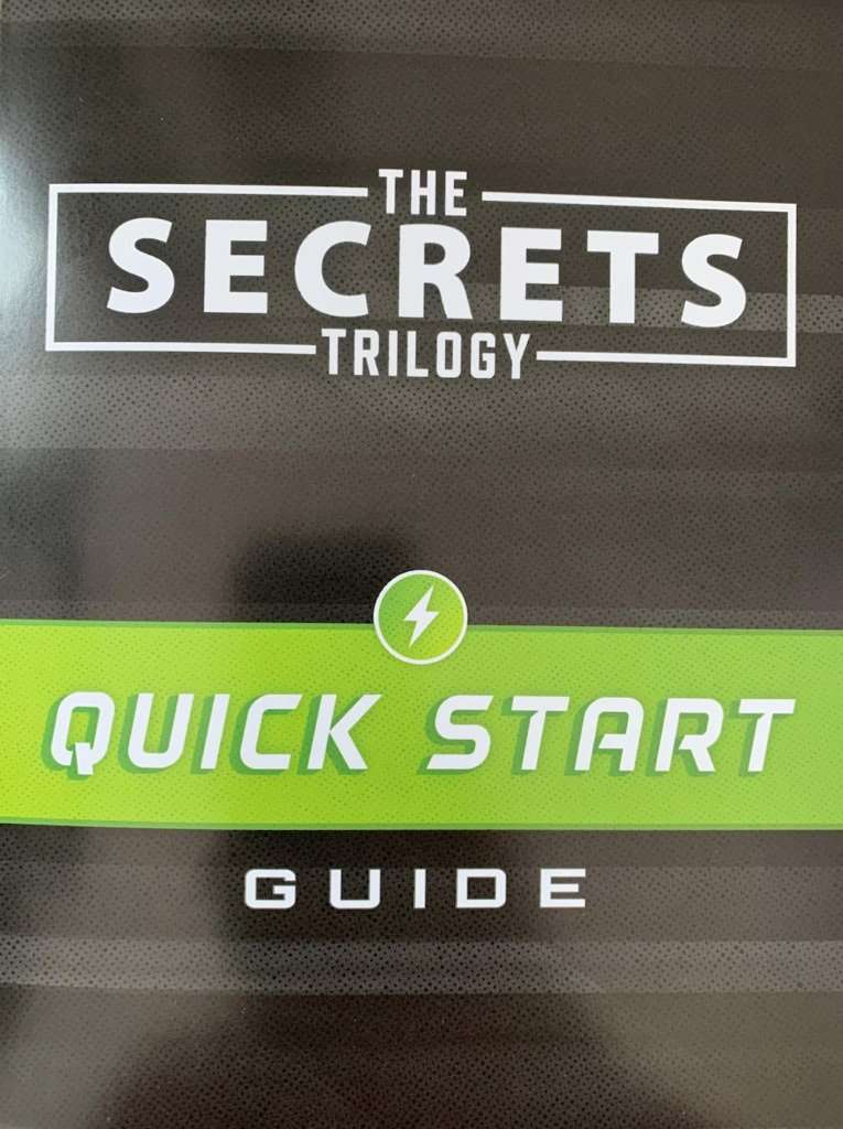 the secrets trilogy quick start guide front cover