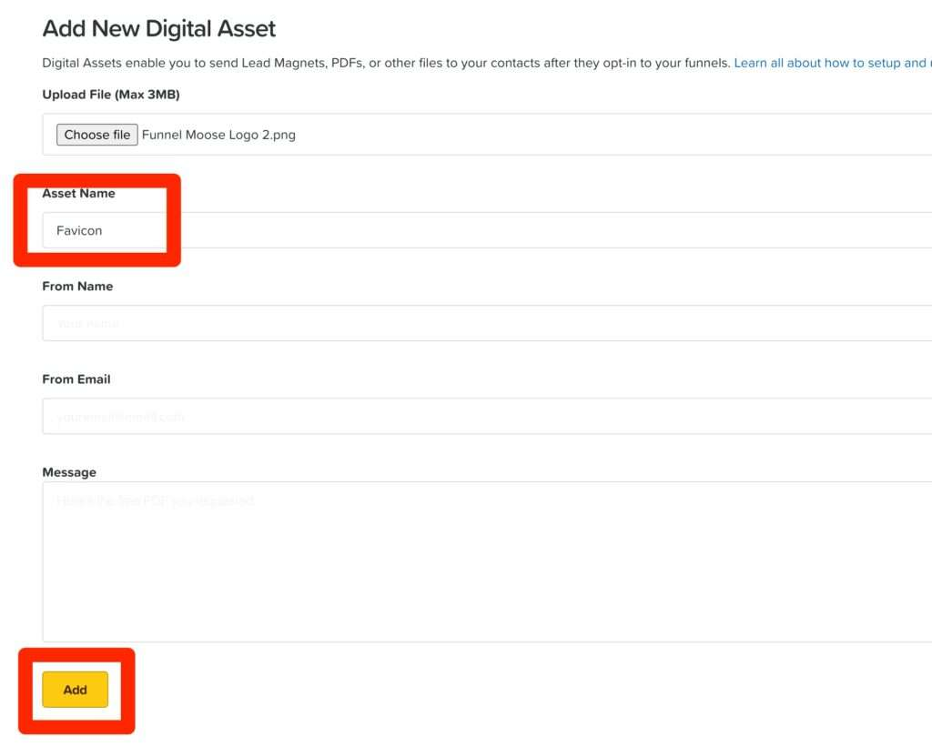 name of the new digital asset